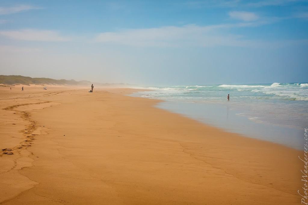 Бесконечный и пустынный пляж Полихале, Кауаи