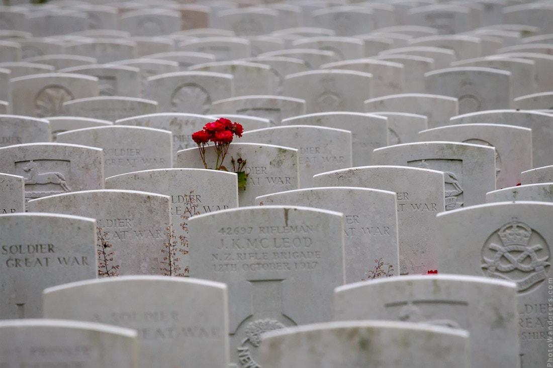 Кладбище и мемориал Тайн Кот (Tyne Cot Cemetery)
