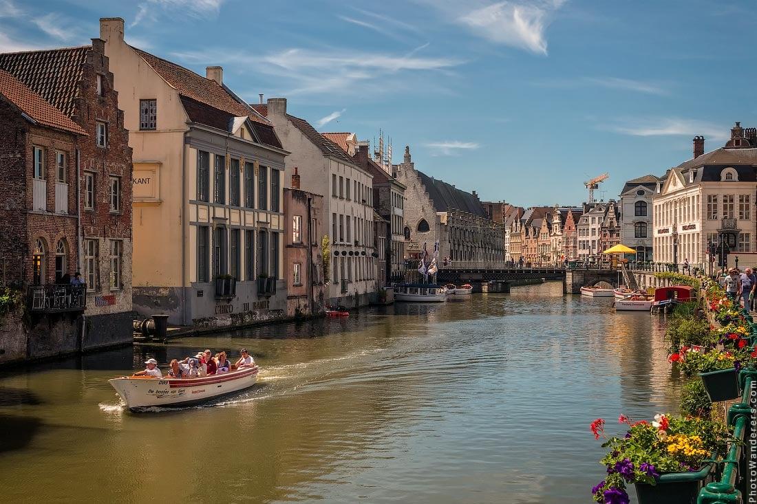 Домики на реке Лис (Leie), Гент