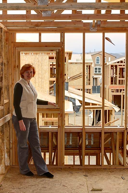 Взгляд через стены, будущий кабинет