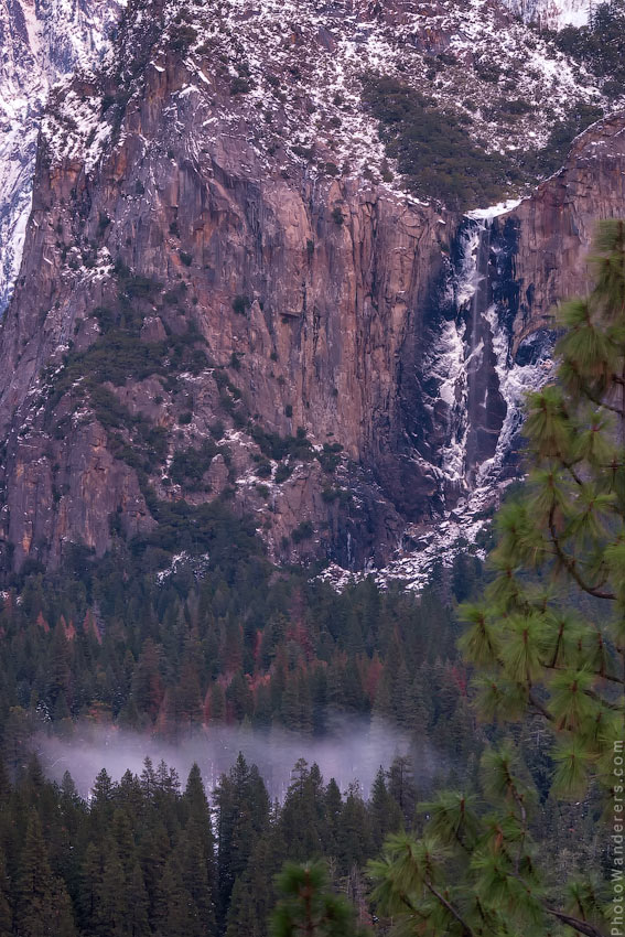 Сумеречный туман | Twilight Fog, Yosemite Valley
