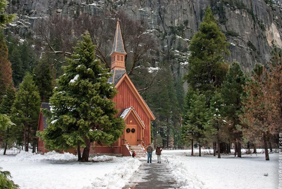 Часовня Йосемити | Yosemite Chapel