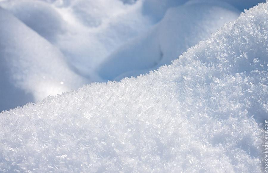 Пушистый снег, долина Йосемити