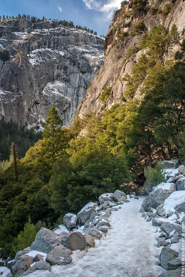 Тропа к водопаду Вернал | Vernal Fall Trail