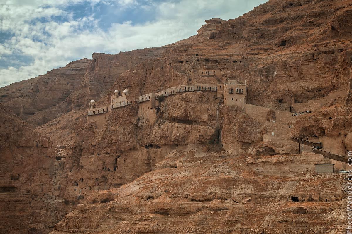 Монастырь Искушения (Monastery of the Temptation), Иерихон, Израиль