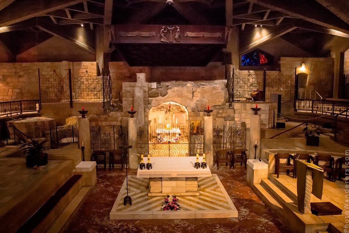 Грот Благовещения, Базилика Благовещения, Назарет (Basilica of the Annunciation, Nazareth), Израиль