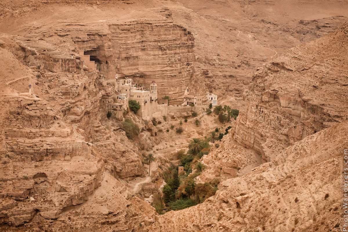 Монастырь Св. Георгия, Вади Кельт (St. George's Monastery, Wadi Qelt), Израиль