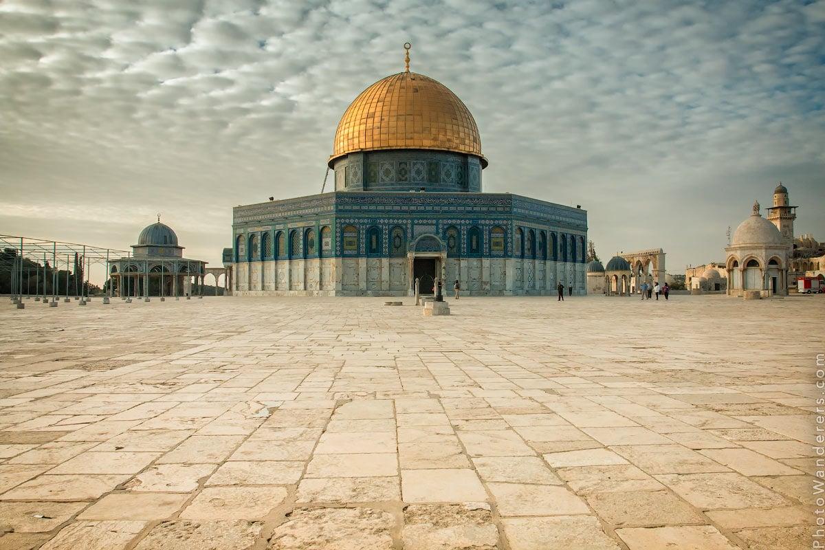 Купол Скалы, (Dome of the Rock), Старый город Иерусалим, Израиль
