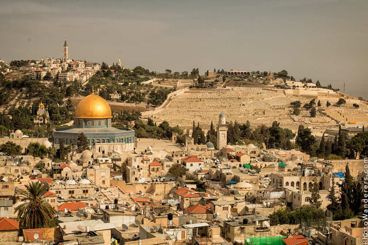 ��� �� ������ ����� ��������� � ��������� ���� (Jerusalem and Mount of Olive View), �������