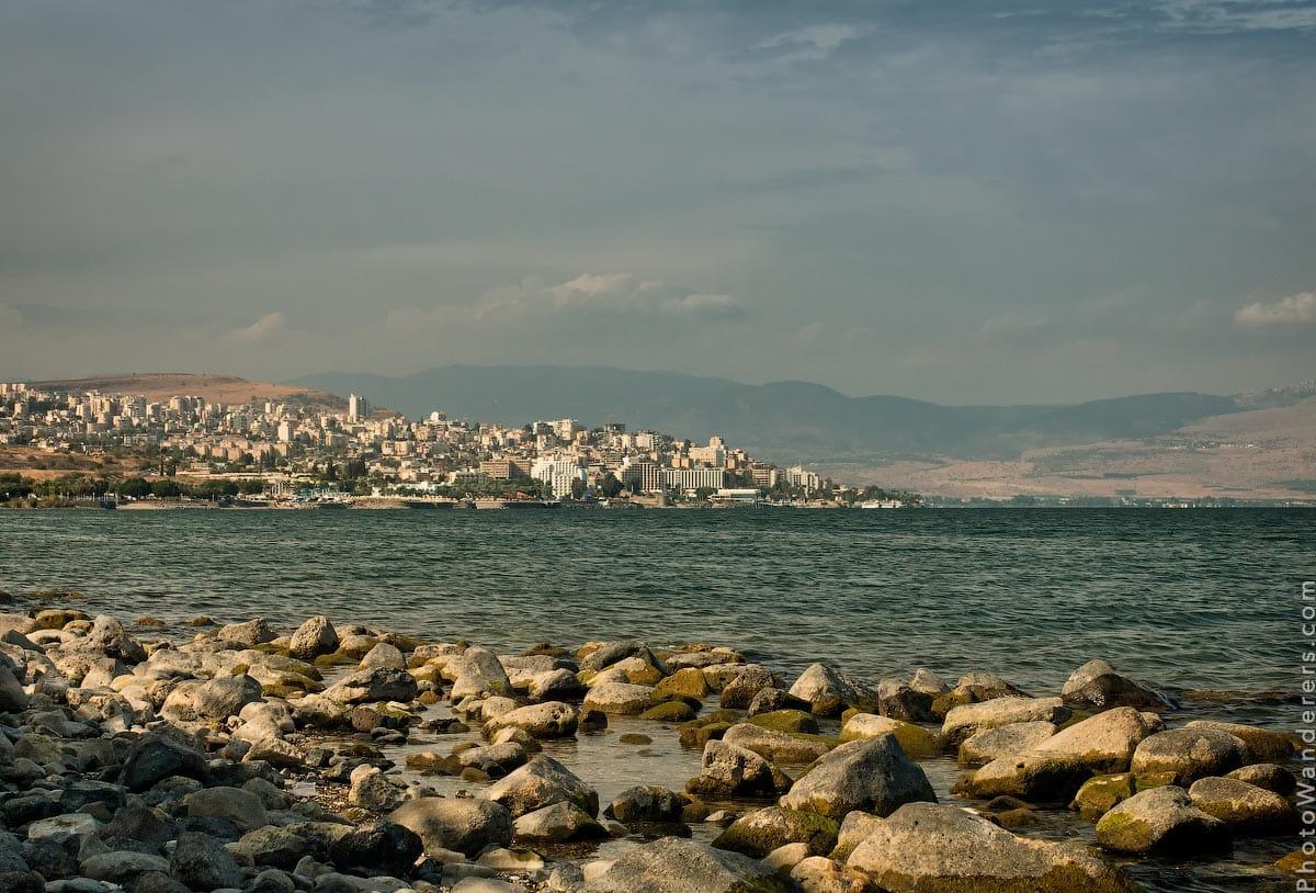 Тверия, Генисаретское озеро (Tiberias, The Sea of Galilee), Израиль