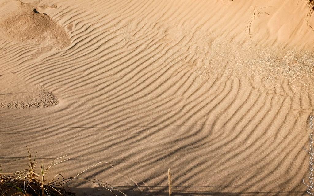 Песчаные волны, парк Дюны Спящего Медведя