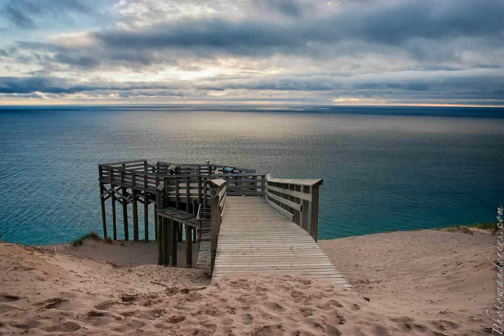 Смотровая площадка у озера Мичиган | Lake Michigan Overlook