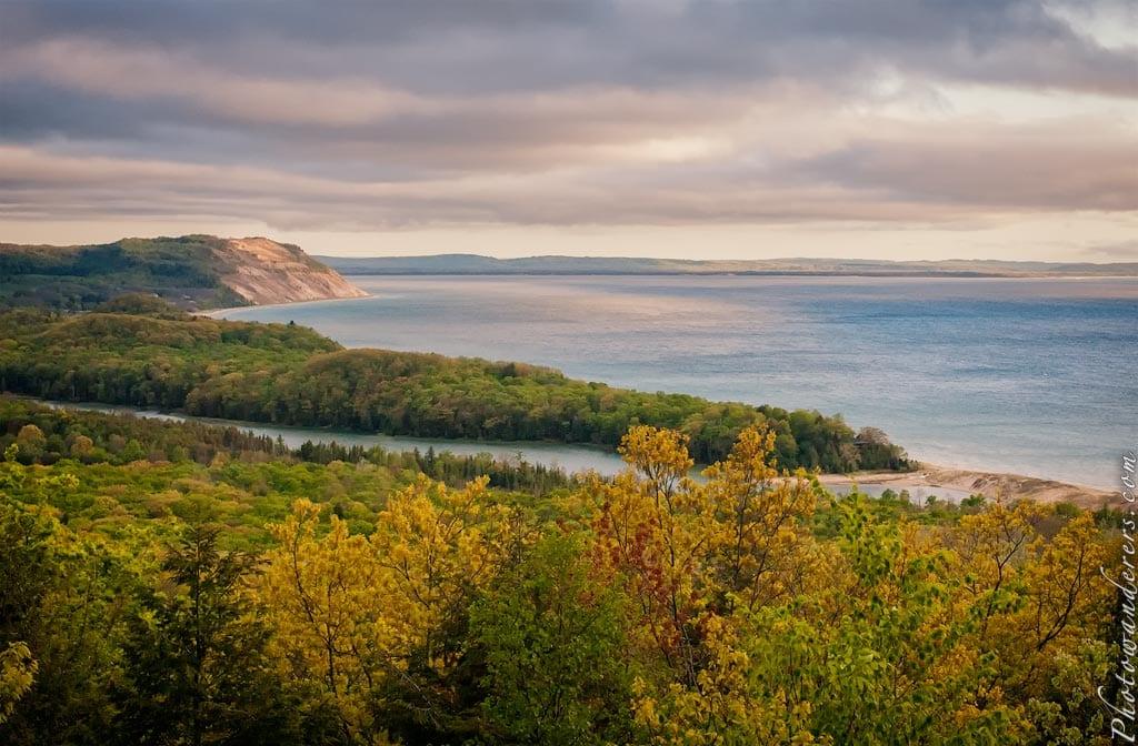 Вид на озеро Северная Коса | North Bar Lake Overlook