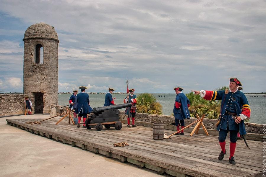 Остановившееся время — Сент-Августин, Флорида
