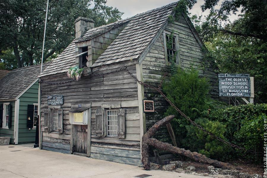 Самая старая деревянная школа в США | Oldest Wooden Schoolhouse