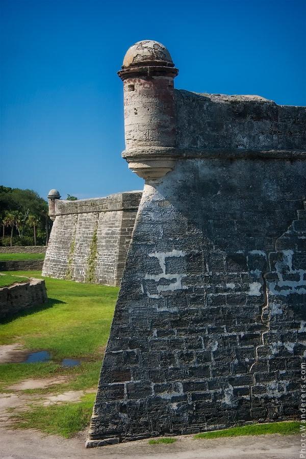 Сторожевые башни крепости Кастильо-де-Сан-Маркос