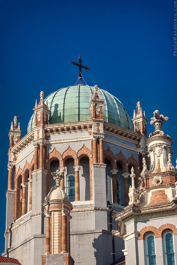 Купола Мемориальной Пресвитерианской церкви