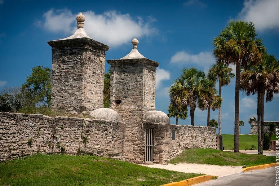 Городские ворота в Сент-Огастин, 1808 | St. Augustine City Gate