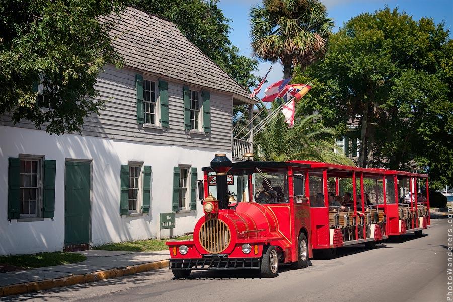 Самый старый дом в Сент-Огастин, Флорида