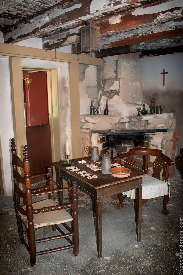 Интерьер самого старого дома в Америке