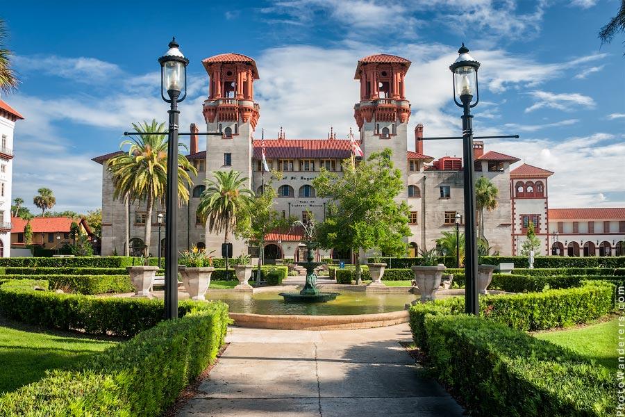 Эксклюзивный отель «Альказар», Сент-Августин, Флорида