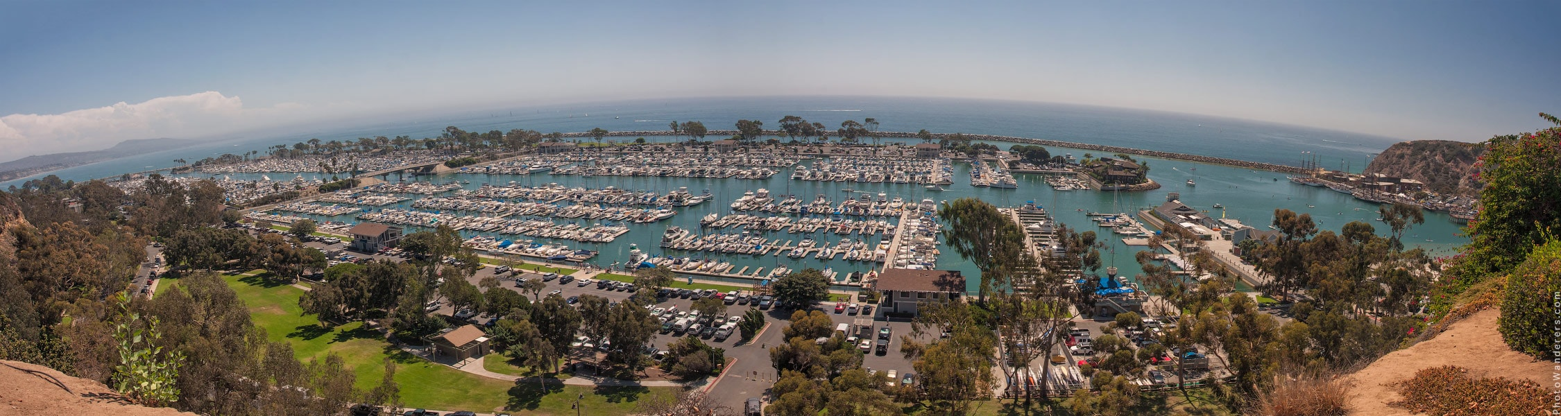 Панорама бухты Сан-Хуан (San Juan Bay), Калифорния