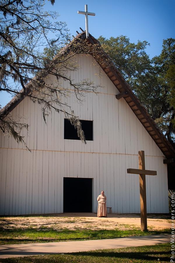 Главная церковь миссии Сан-Луис