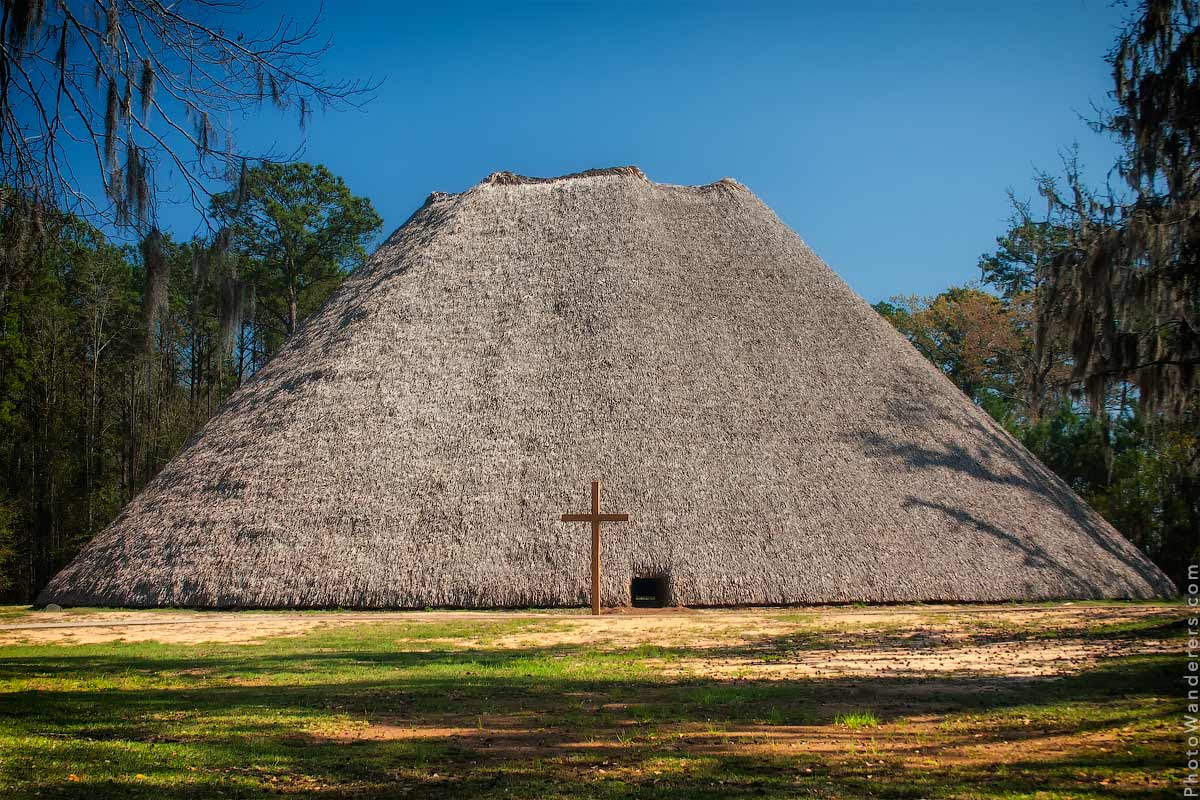 Дом Совета индейцев апалачи