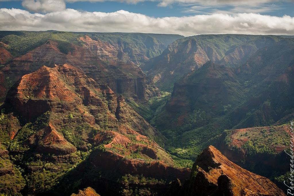 Большой гавайский каньон, Мир водопадов и каньонов | Grand Hawaii Canyon, Kauai