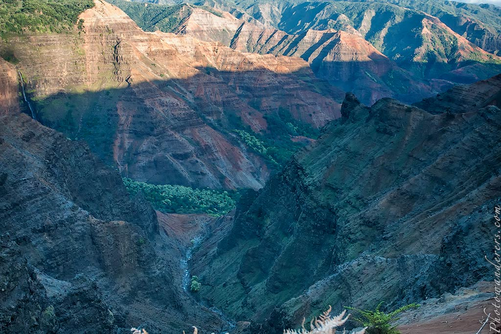 Мир водопадов и каньонов, Каньон Ваимеа | World of Canyons and Waterfalls, Waimea Canyon