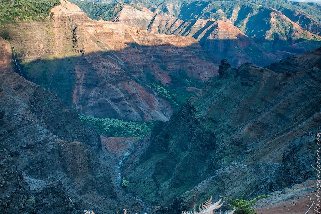Мир водопадов и каньонов, Каньон Ваимеа | World of Canyons and Waterfalls, Waimea Canyon