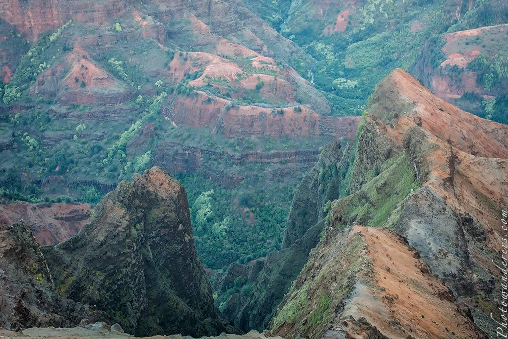Пики, Каньон Ваимеа | Peaks, Waimea Canyon