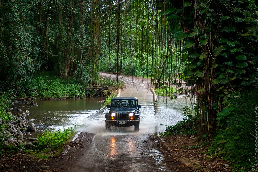 Форсирование ручья Keahua | Keahua Stream crossing