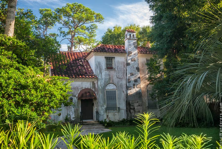 Испанский домик в Сент-Августин
