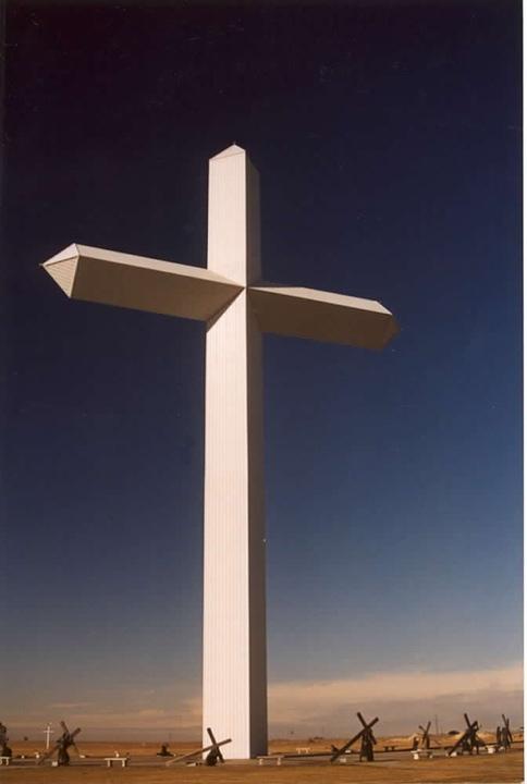 Гигантский крест, Грум, Техас | Groom, Texas