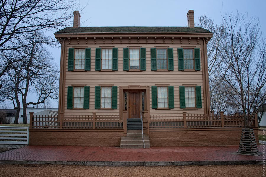 Дом президента США Авраама Линкольна