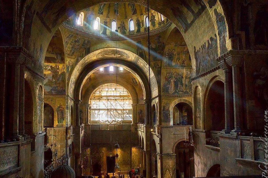 Золотые арки Собора Сан-Марко, Венеция, Италия