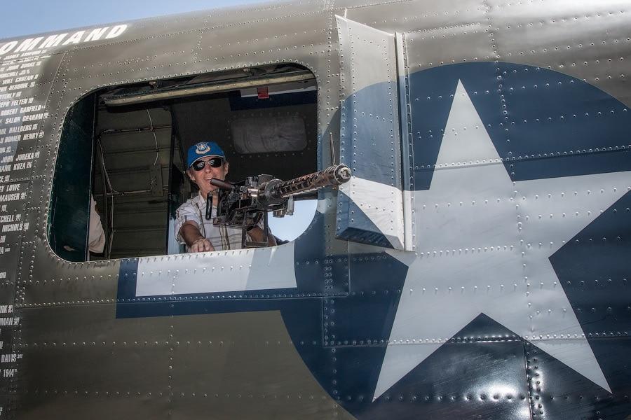Дополнительные пулеметы на B-24 «Либерейтор»