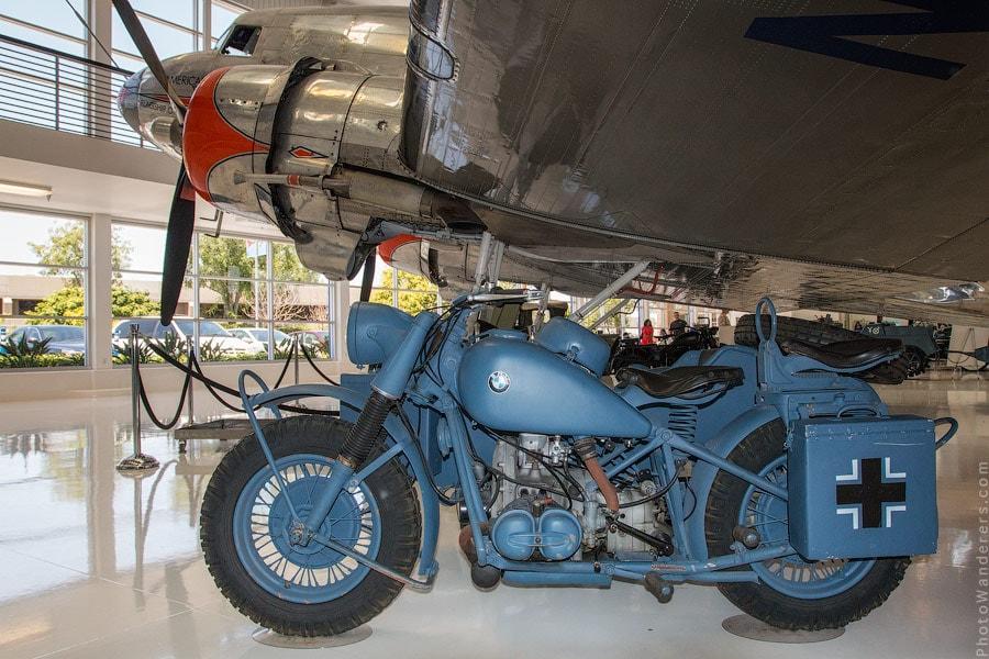 Мотоцикл BMW времен Второй Мировой войны