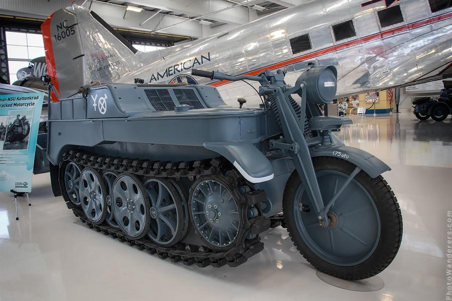 Гусеничный мотоцикл Киттенкрад (Kettenkrad)