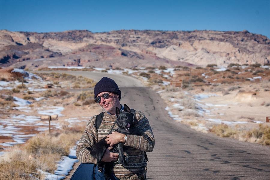 Долгая дорога в дюнах, Долина Гоблинов, Юта | Long road, Goblin Valley, Utah