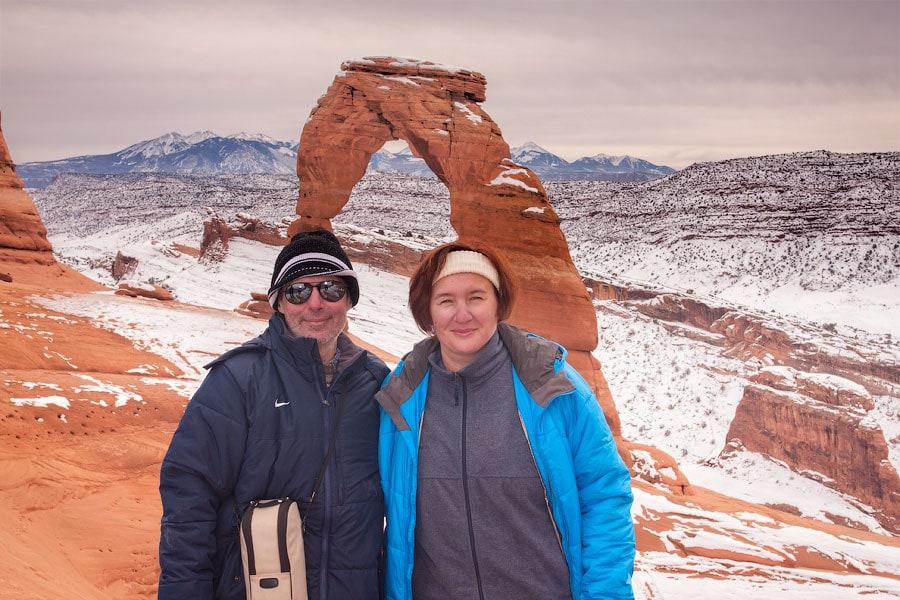 Изящная Арка, Национальный парк Арки, Юта | Delicate Arch, Arches National Park, Utah