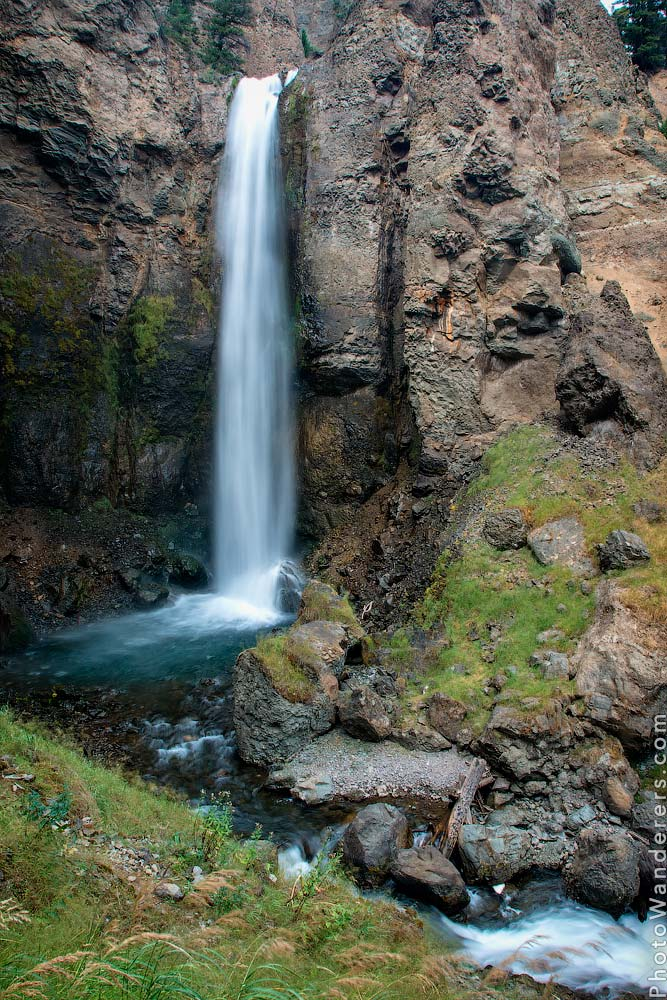 Водопад Тауэр-Фолс или Башня (Tower Fall)